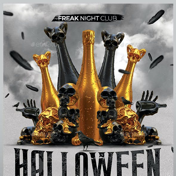 Halloween Drink Party
