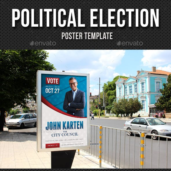 Political Election Poster