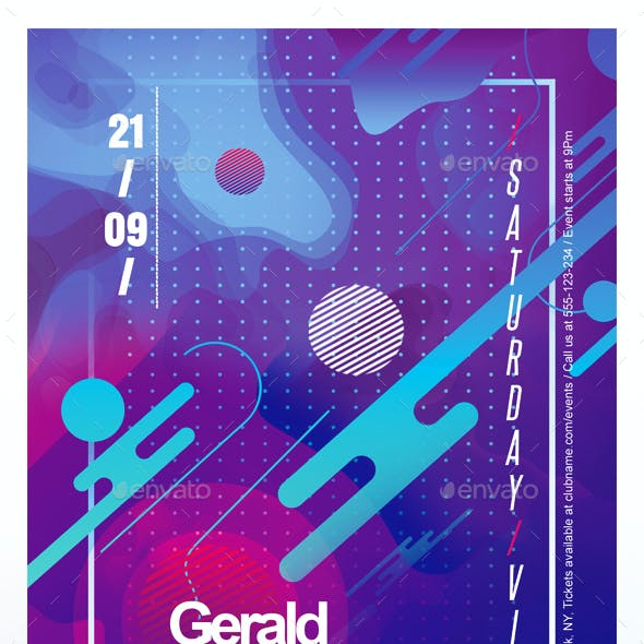 Colorful Abstract Flyer