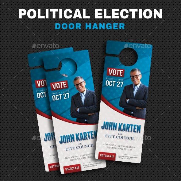 Political Election Hanger