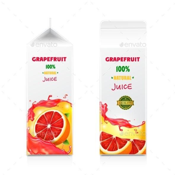 Grapefruit Juice Package Design
