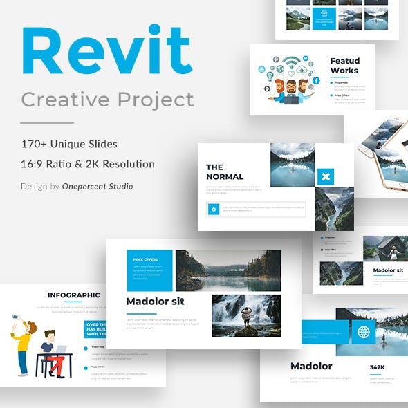 Revit Creative Powerpoint Template