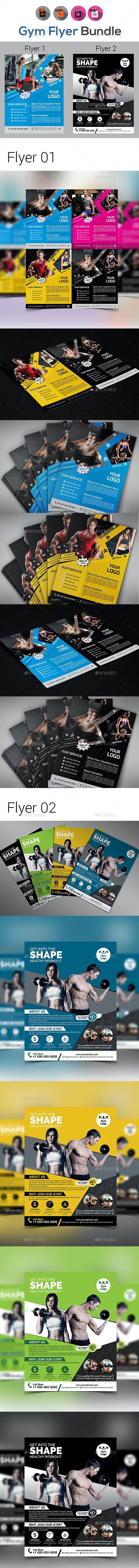 Fitness & Gym Flyer Bundle - Sports Events
