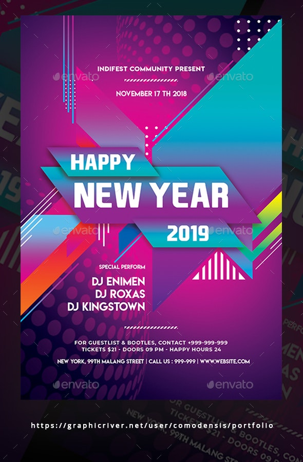 Happy New Year 2019 - Clubs & Parties Events