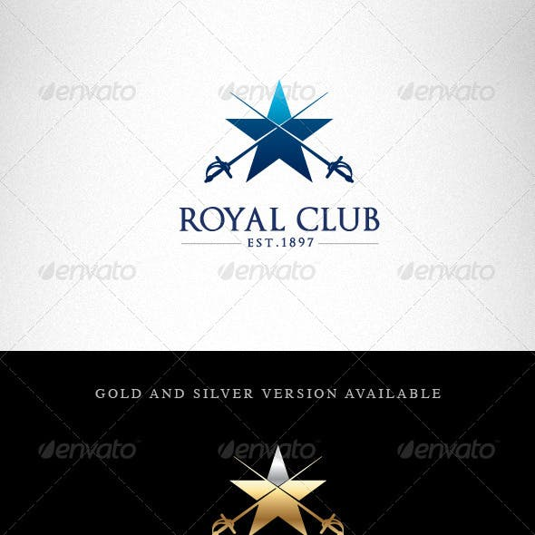 Royal Club Creative Logo Template