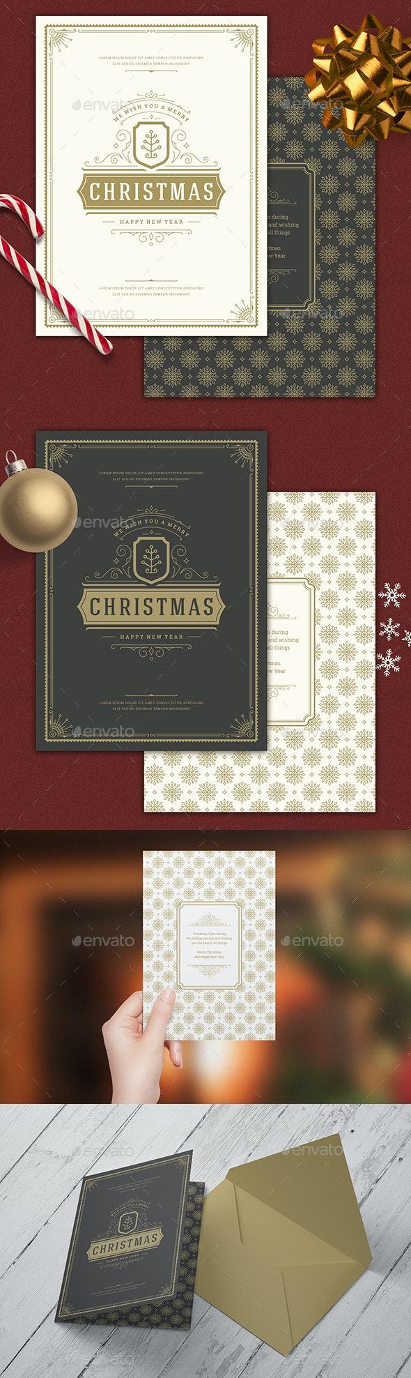 Christmas Greeting Card - Christmas Greeting Cards