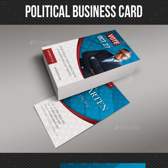 Political Business Card