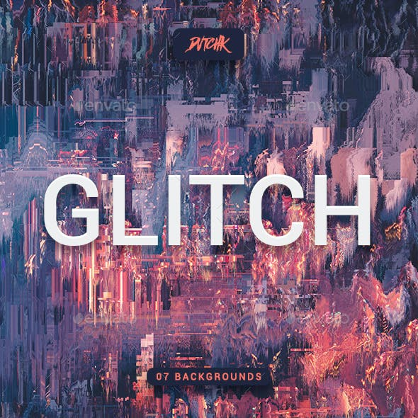 Error | Glitch Abstract Backgrounds