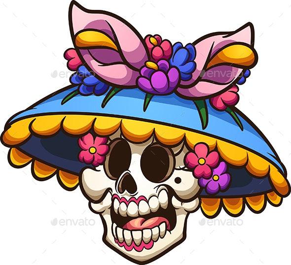 Mexican Catrina - Halloween Seasons/Holidays