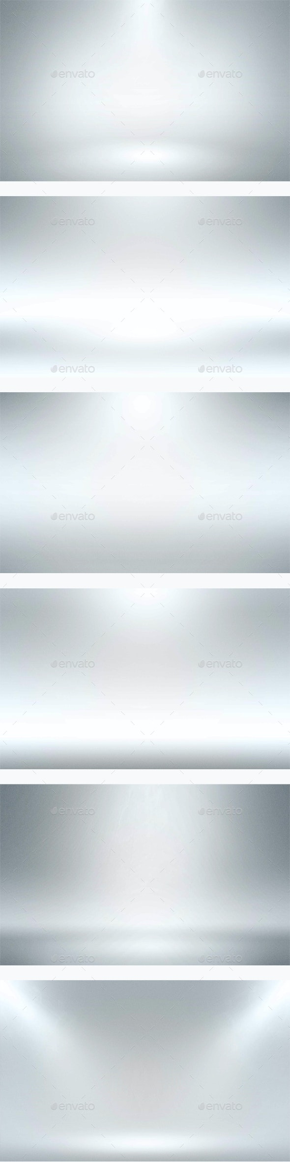 Infinite White Floor Spotlight Backgrounds