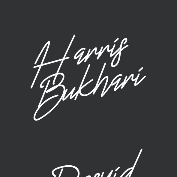 Harris Typeface