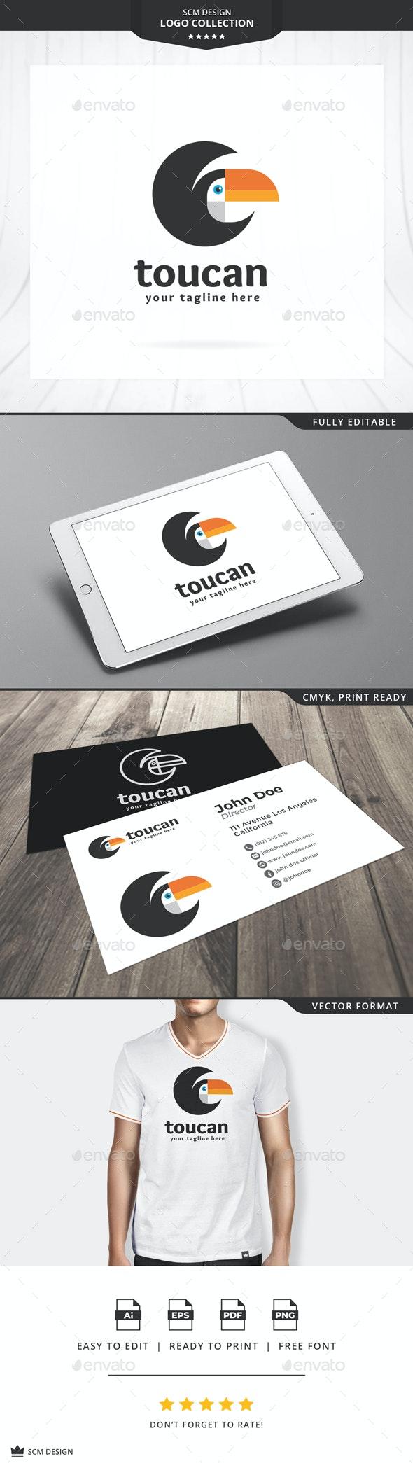 Toucan Bird Logo - Animals Logo Templates