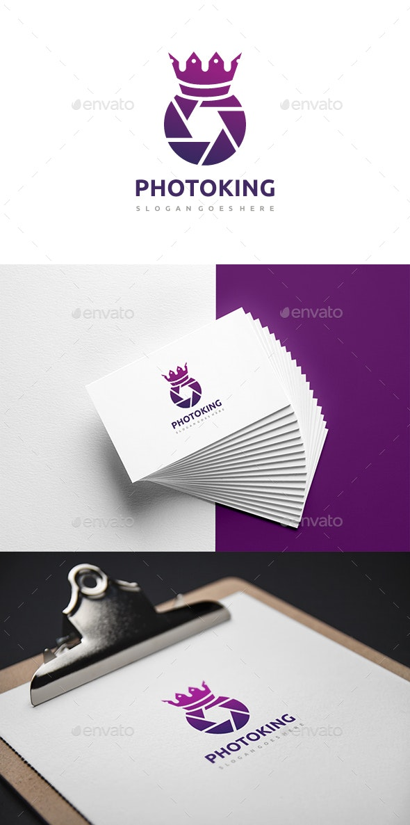 Photography King Logo - Abstract Logo Templates