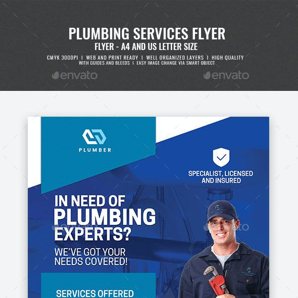 Plumber Services Flyer