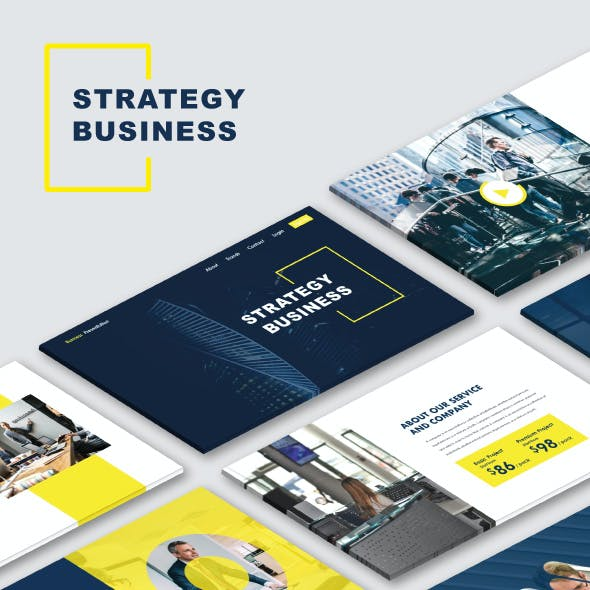 Strategy Business PowerPoint Templates