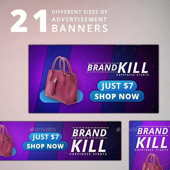 Product Ad 21 Banners