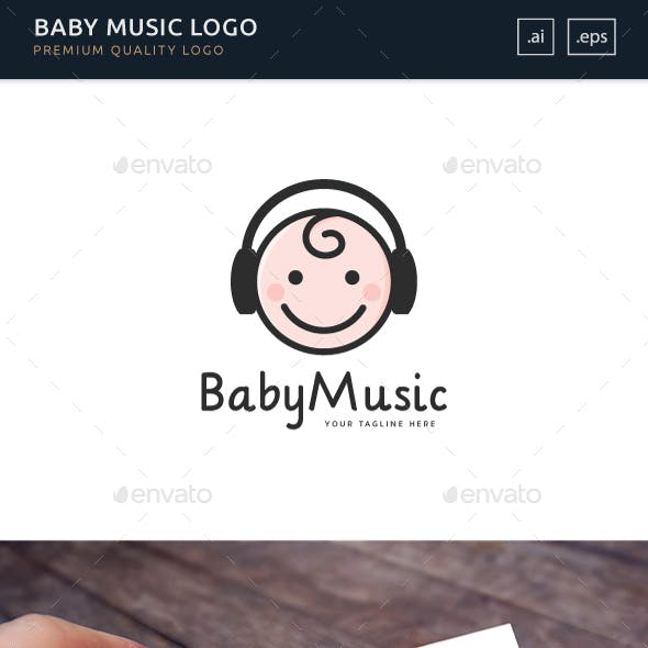 Baby Music - Logo Template