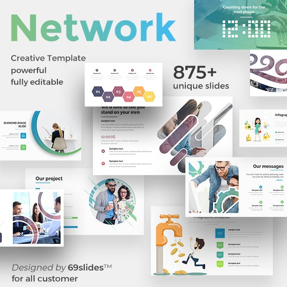 3 in 1 Social Network Pitch Deck Bundle Powerpoint Template