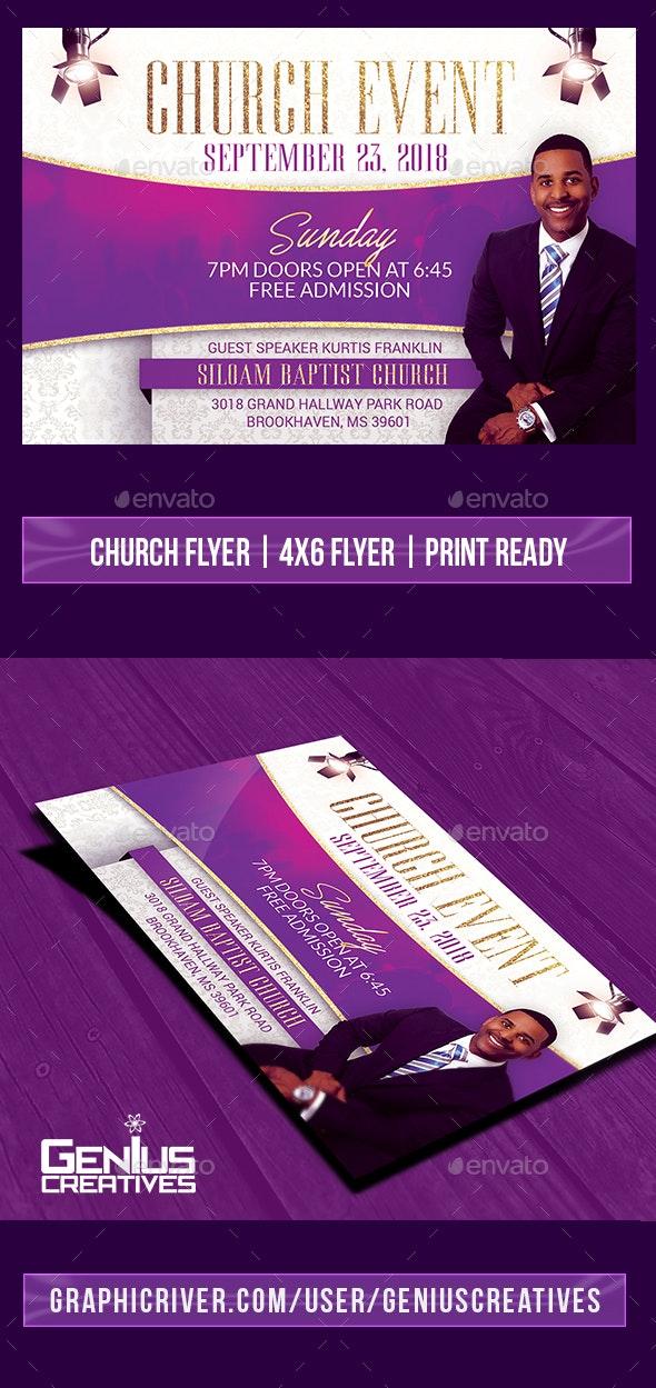 Church Event Flyer Template V4 - Church Flyers