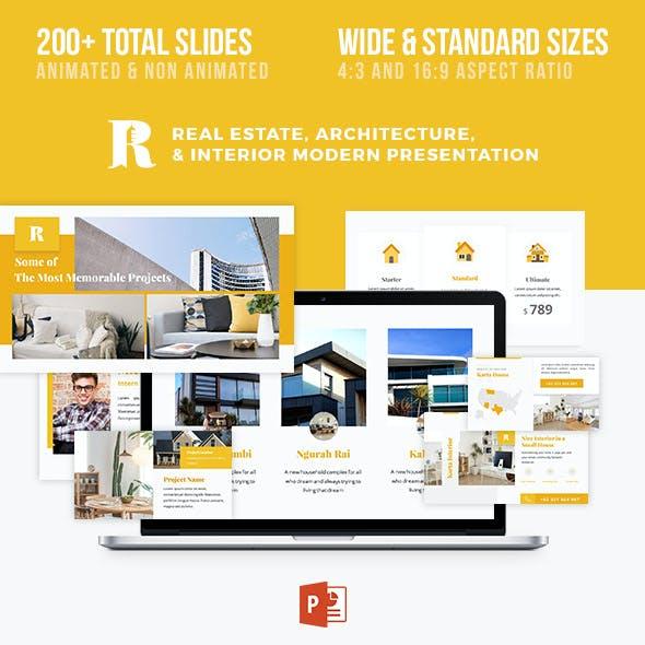 Architecture Real Estate Interior Presentation - Rancang