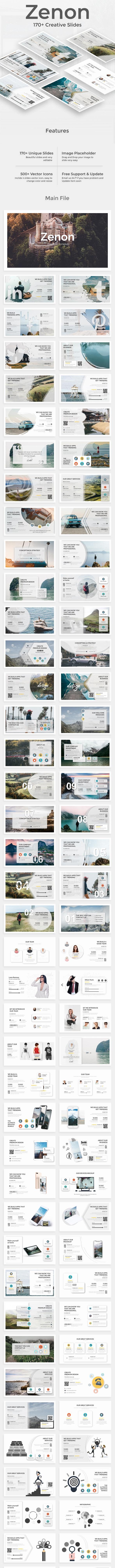 Zenon Creative Premium Keynote Template - Creative Keynote Templates