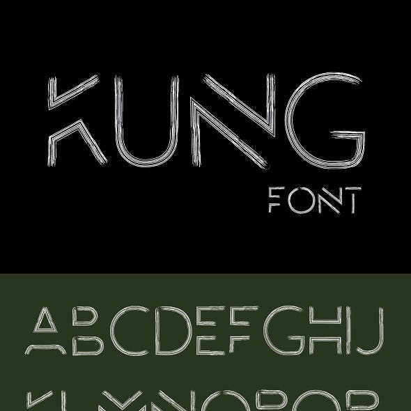 KUNG Typeface