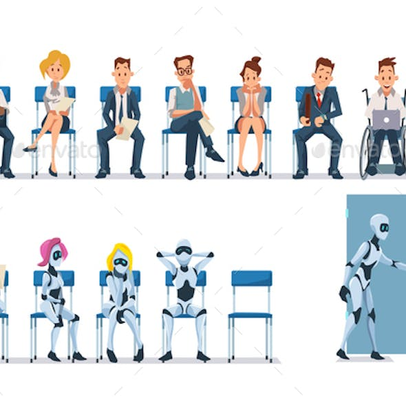 Job Interview Recruiting and Robots