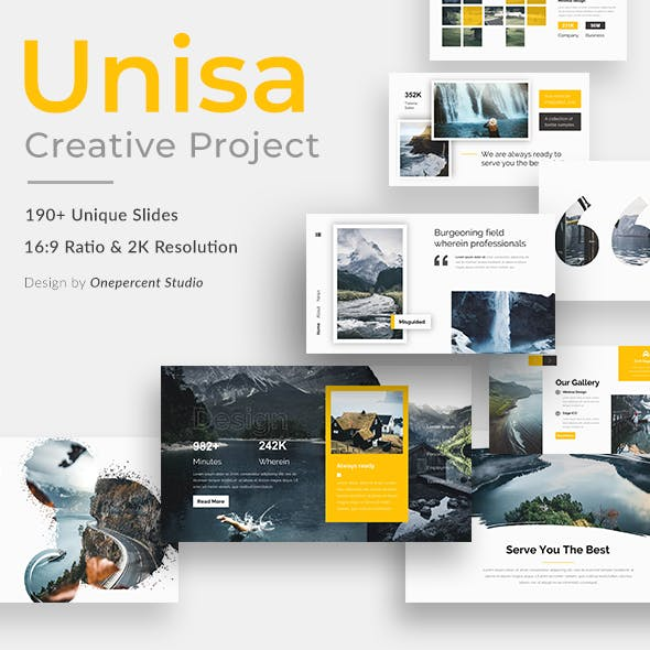 Unisa Creative Powerpoint Template