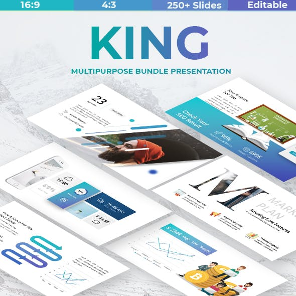 King Business Powerpoint Template