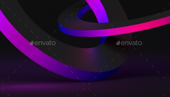 Abstract Minimalistic 3D Background - Abstract 3D Renders