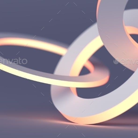 Abstract Minimalistic 3D Background