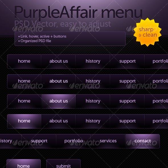PurpleAffair menu