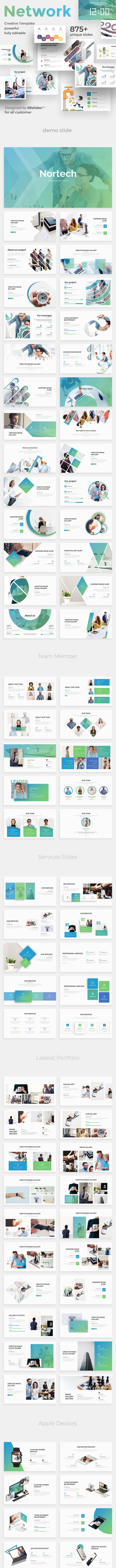 3 in 1 Social Network Pitch Deck Bundle Google Slide Template - Google Slides Presentation Templates