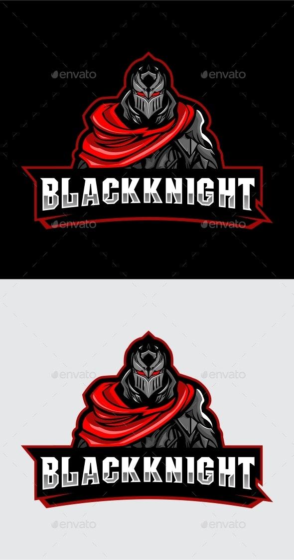 Esports Mascot Knight - Logo Templates