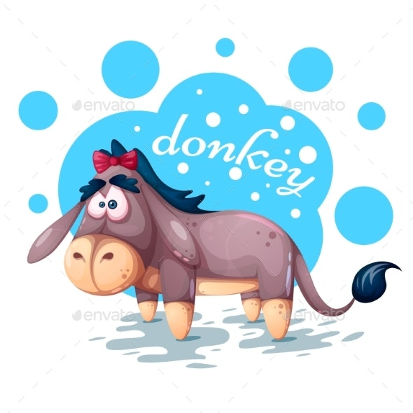 Donkey - Animals Characters