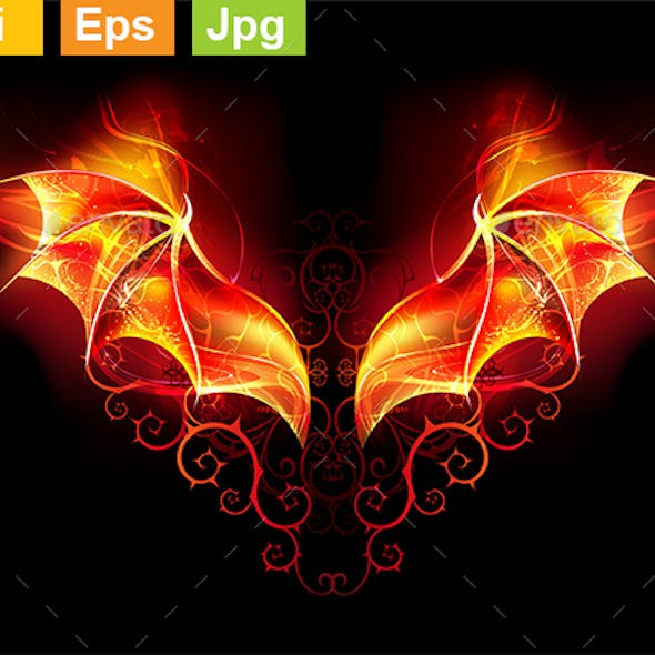 Fire Dragon Wings