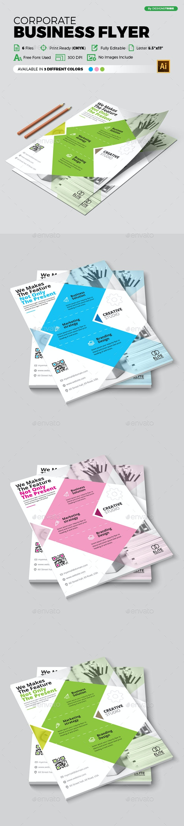 Flyer – Multipurpose 375 - Corporate Flyers