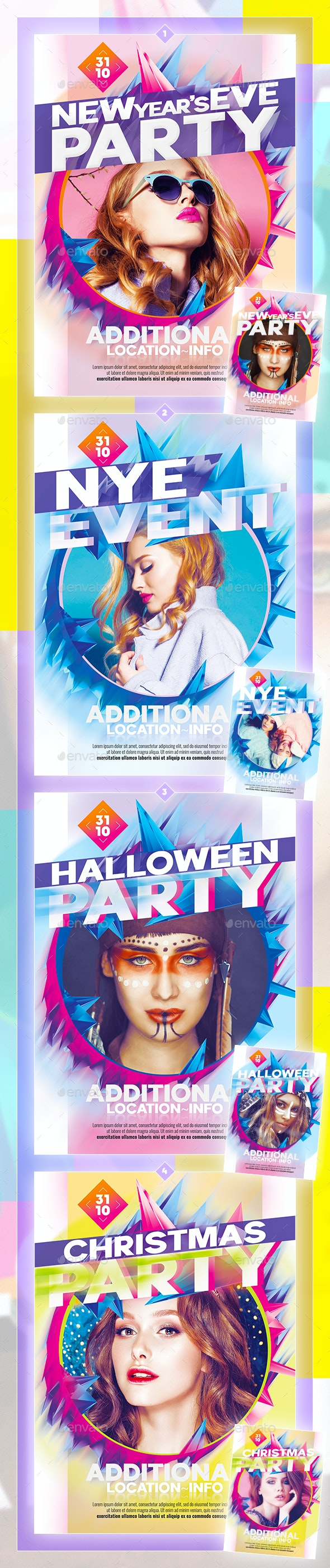 Colorful Flyer - Events Flyers