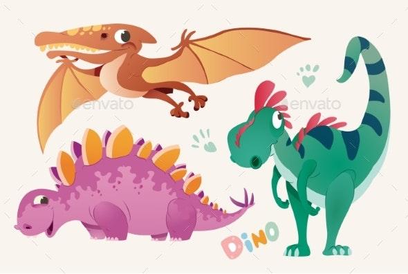 Dino Set 2 - Animals Characters