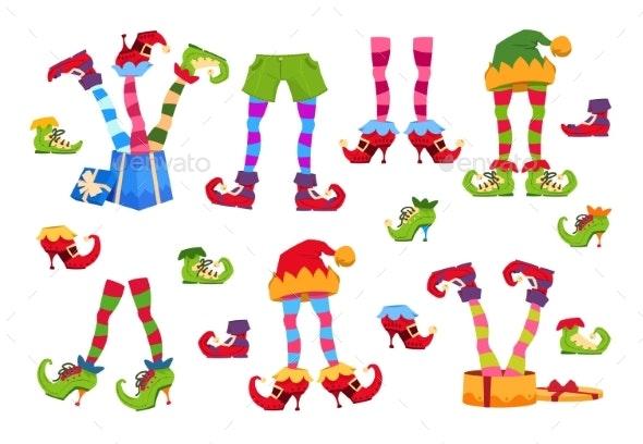 Elf Feet - Miscellaneous Vectors