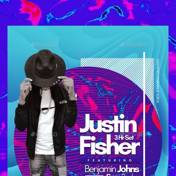 Modern DJ Flyer