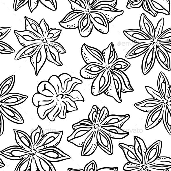 Anise Seamless Pattern
