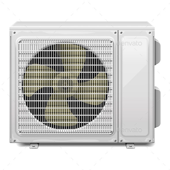 Vector Air Conditioning - Man-made Objects Objects