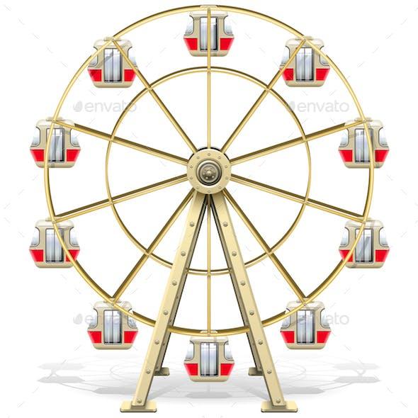 Vector Ferris Wheel
