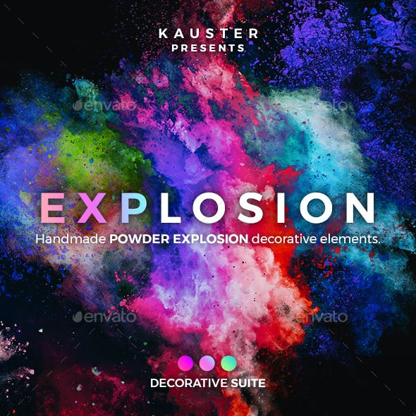Powder Explosion Decorative Suite