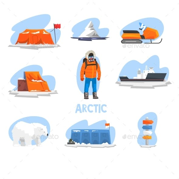 Expedition to the Arctic Set Polar Explorer