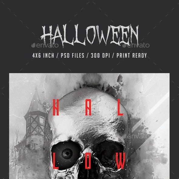 Halloween Day Flyer Promotional Item