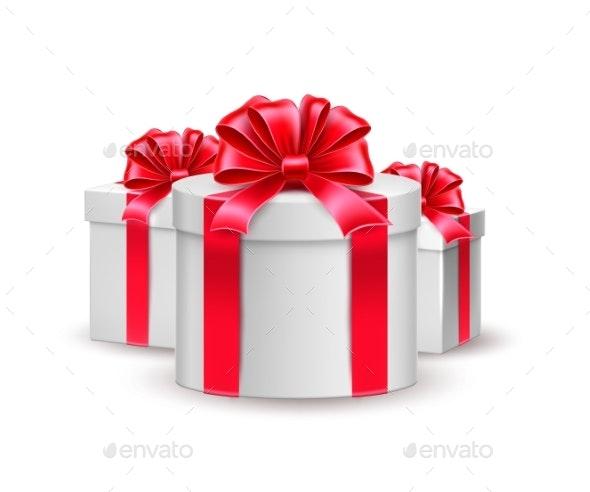 Vector Christmas New Year Holiday Presents - Christmas Seasons/Holidays