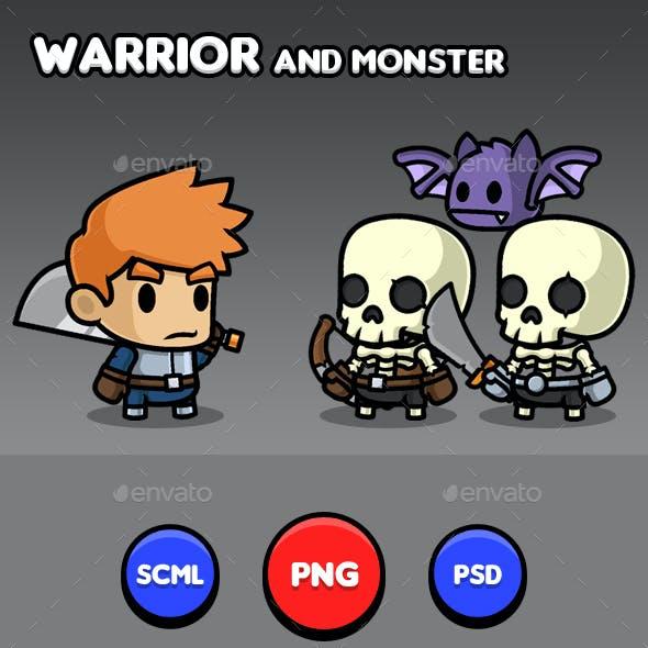 Warrior Sprites - Pack
