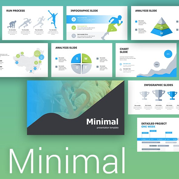 Minimal Corporate Powerpoint Template